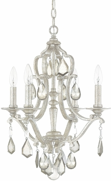 Capital Lighting 4184as Pc Blakely Antique Silver Mini Chandelier