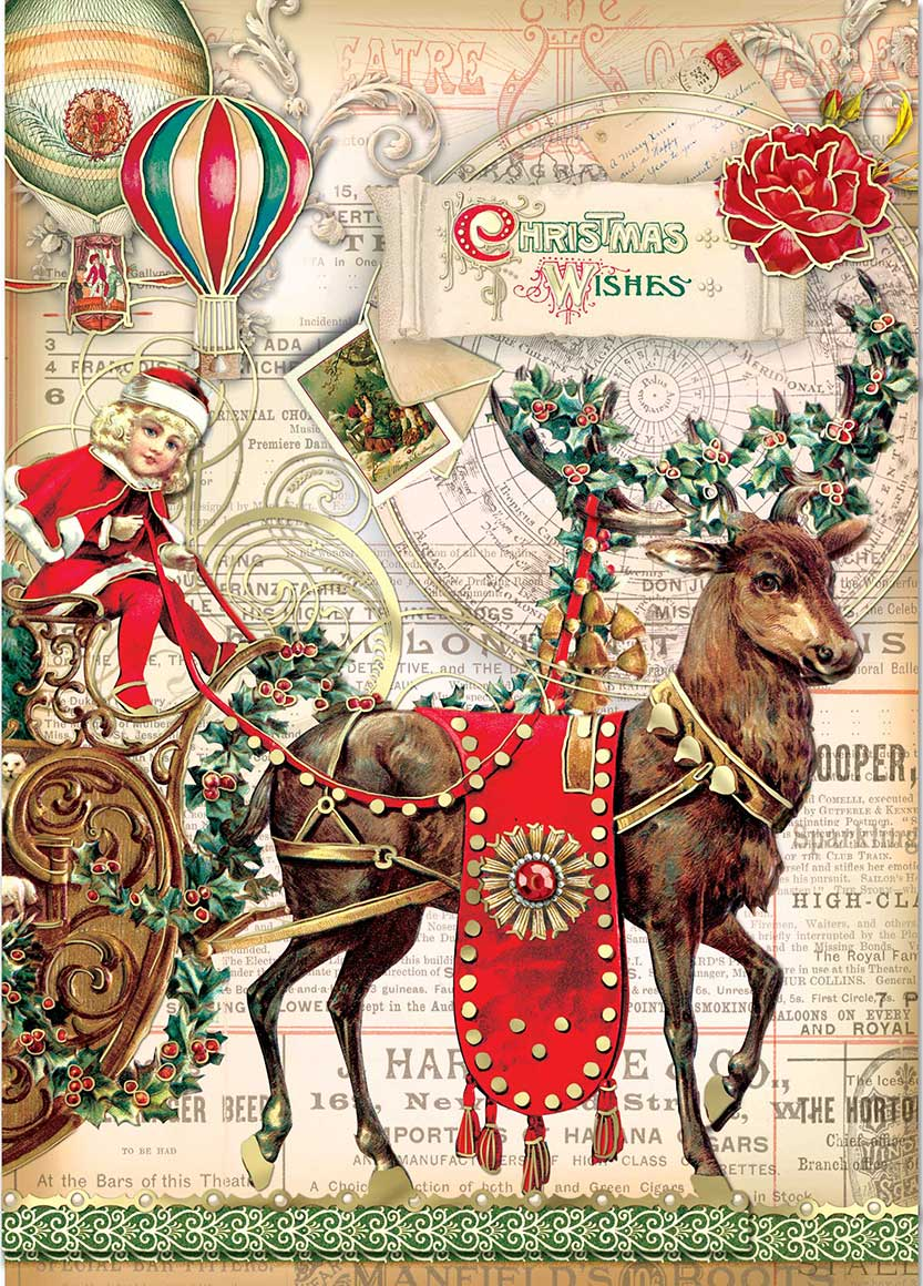 Christmas Journey Boxed Cards Holiday Punch Studio