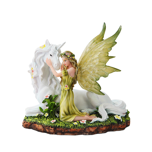 Flowery Fairy Amp Unicorn Figurine Unicorn Gifts