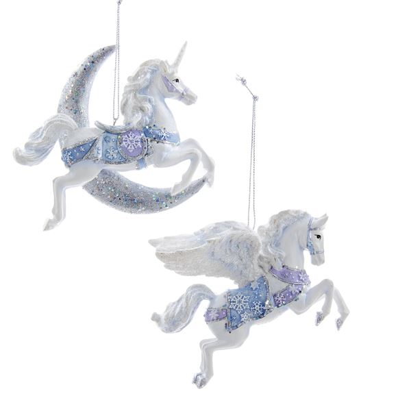 Pegasus Amp Unicorn Ornament Set Unicorn Gifts