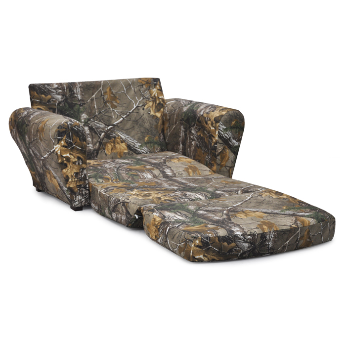 Real Tree Xtra Camo Sleepover Sofa Camouflage Kids Flip