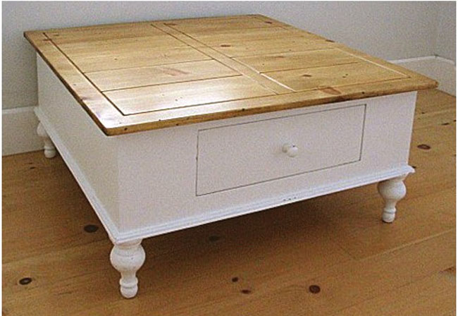 Farmhouse Square Coffee Table For Sale Cottage Amp Bungalow