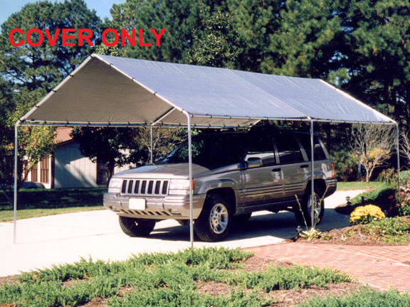 King Canopy Silver Replacement Tarp For 10 X 20 Canopies