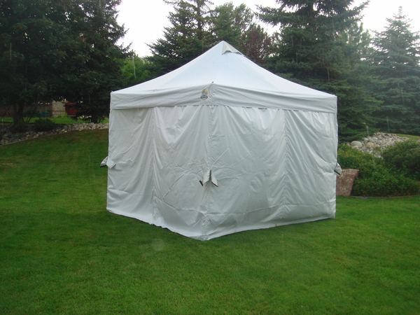 Undercover CRS Polyester Canopy Sidewall Enclosure Kit