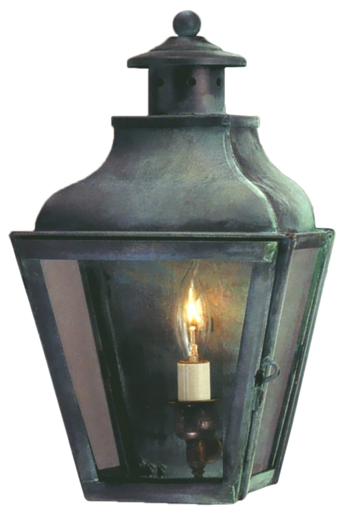Bronze Light Lantern Pendant