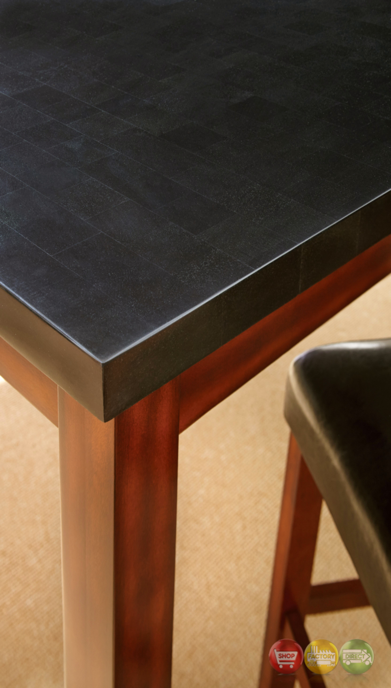 Dining And Cherry Table Black