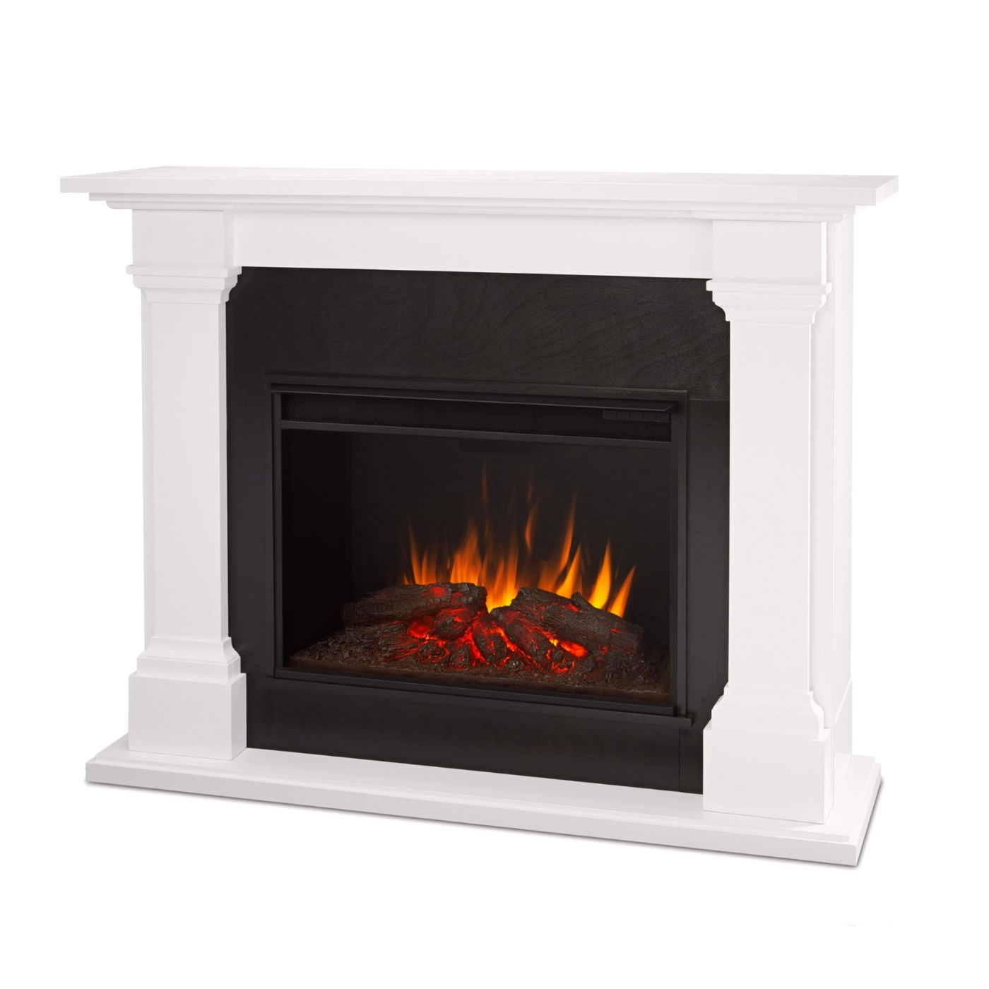 Callaway Grand Vivid Led Electric Fireplace In White