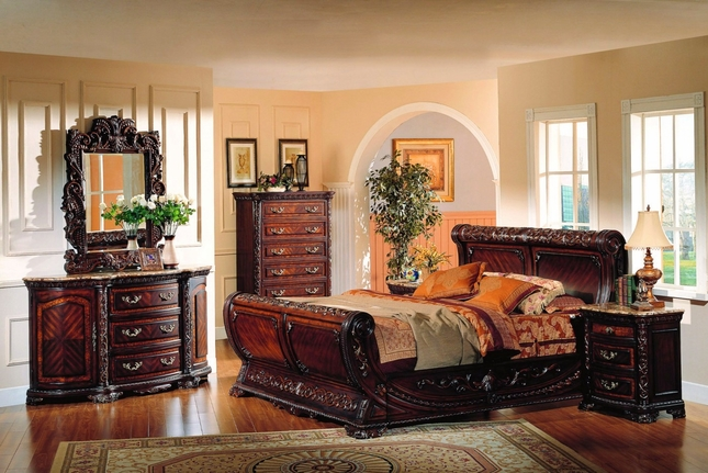 cannes sleigh bed traditional luxury