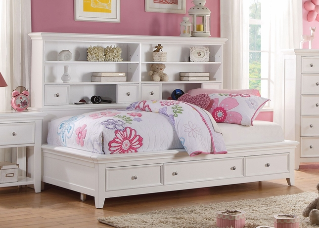 Lacene Kids Traditional Girl S Youth Twin Daybed W