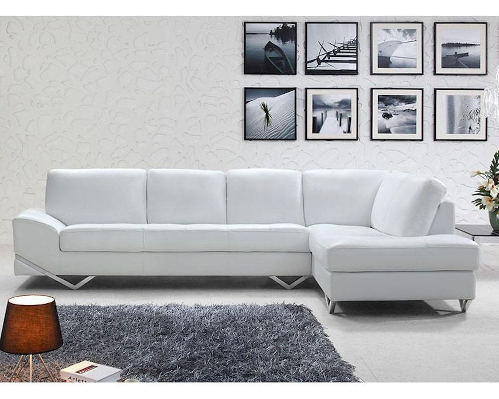 latte leather sectional sofa set 44l6064
