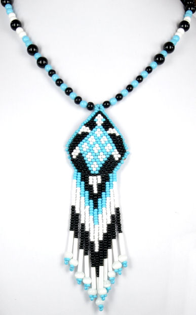 Cherokee Indian And Styled Beaded Necklaces Page 6
