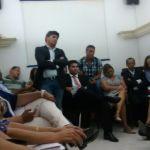 Resumo da audiência na Câmara dos vereadores, no dia 12/03