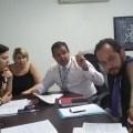 Dirigentes de turno nova audiência com o IPMDC