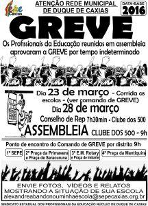 GREVE 1 CARTAZ