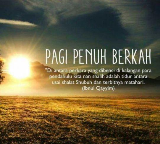 Kata Islami Pagi Hari Nusagates