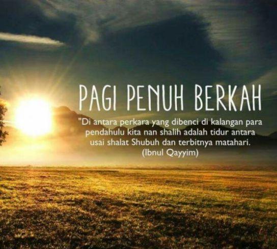 Kata Kata Motivasi Pagi Hari Islami Cikimmcom