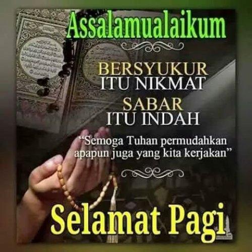 Gambar Kata Semangat Pagi Islami Cikimmcom