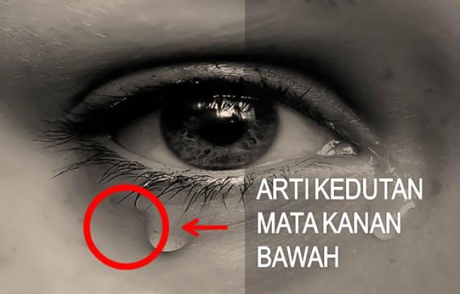 Arti Kedutan Mata Kanan Bawah Menurut Primbon