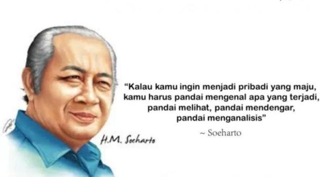 Kata kata Bijak Motivasi Soeharto