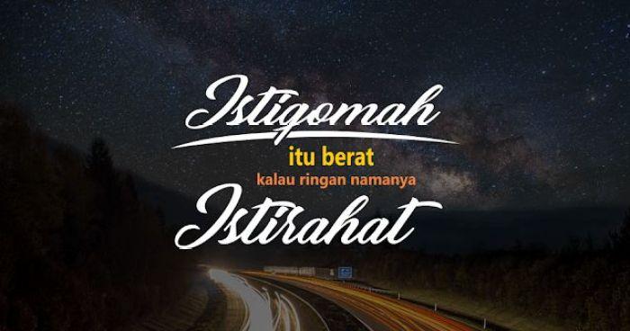 Hijrah dan istiqomah