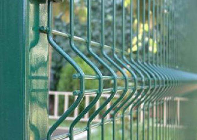 Stainless Steel Welded Mesh railing