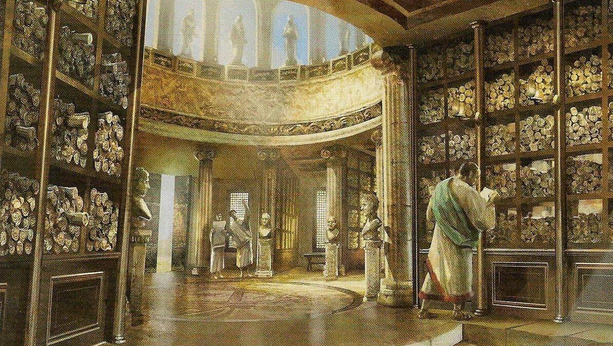 Historiske byer: Alexandria og det verdenskendte bibliotek