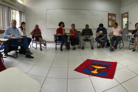 Encuentro de la SEPLA con activistas de movimientos sociales – Vitória, Brasil