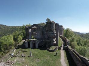 Drei Burgen Weg Ramberg Pfalz
