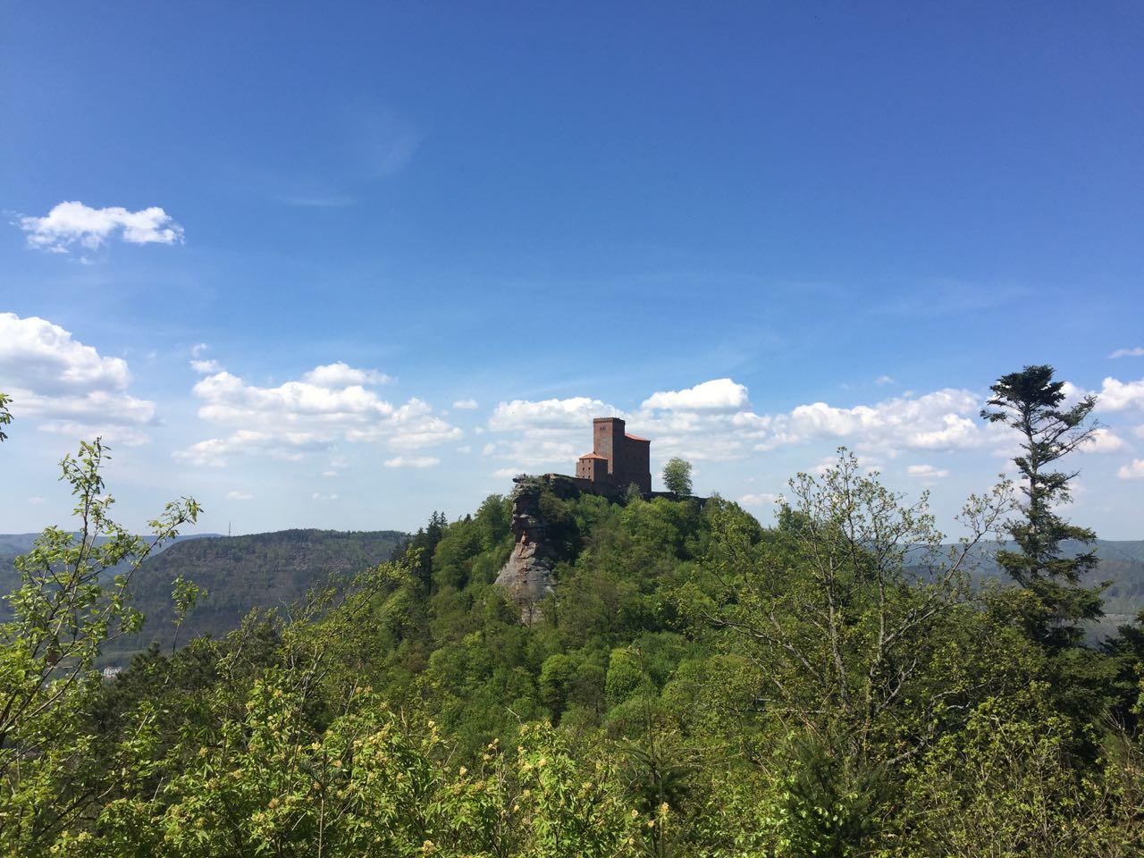 Trifels Richard Löwenherz Weg