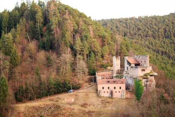Burg Spangenberg Wolfsschluchthütte