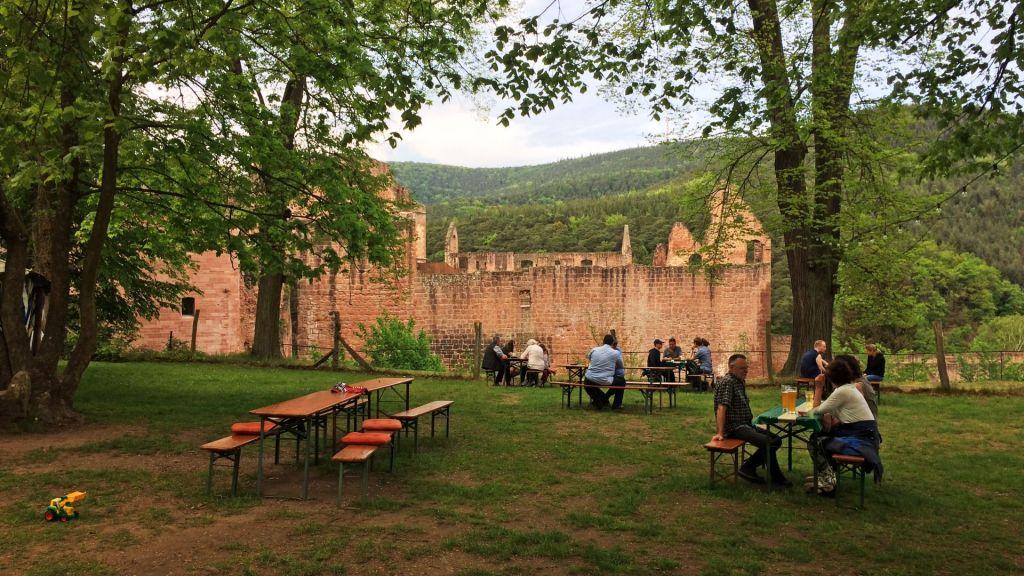 Kloster Limburg Hardenburg Pfalz