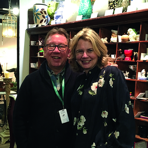 Catherine Southon & Mark Stacey