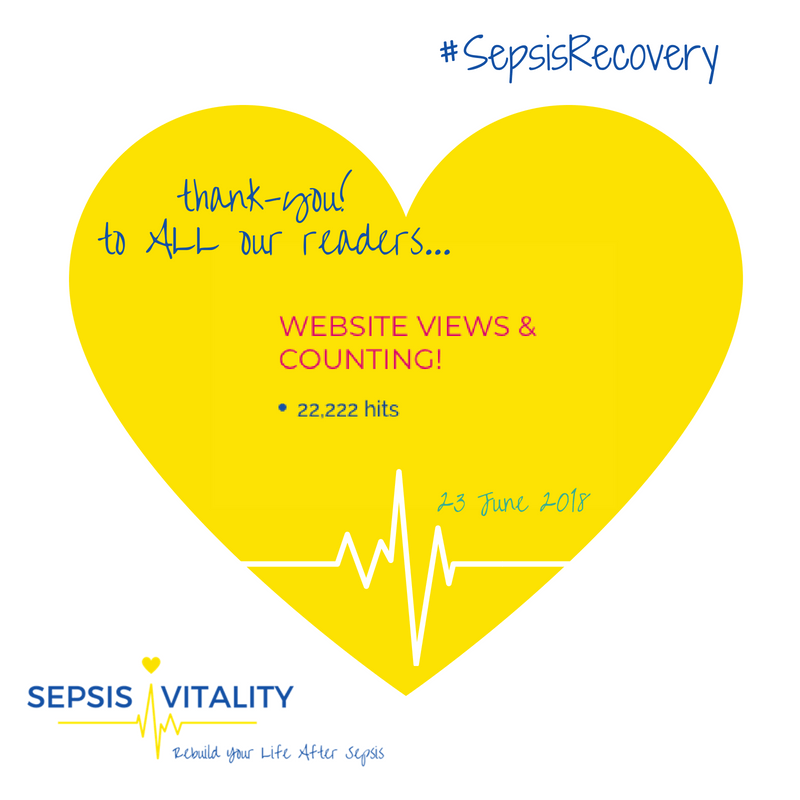 Sepsis Vitality Website Is A Hit – 22,222 Views And Counting