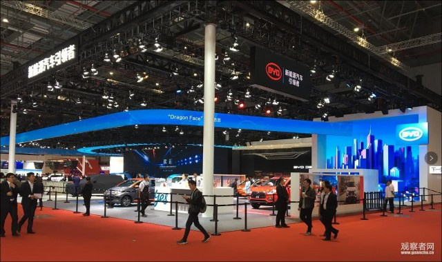 上海车展开幕,中国占据电动车行业的半壁江山