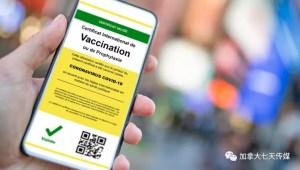 """打疫苗得""""护照""""?加拿大将考虑发放""""健康证"""""""