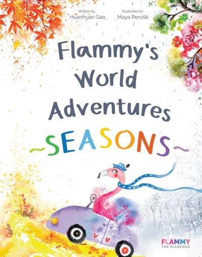 抢!华裔作者联袂俄罗斯绘手,儿童绘本《费拉明的世界探险—四季》上线亚马逊!