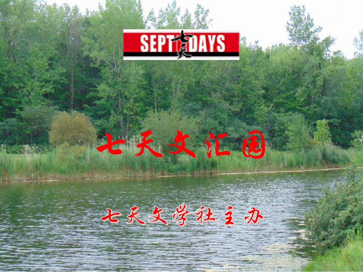 七天文汇园(9月3日)