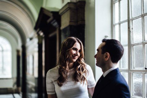 Islington Town Hall elopement photography | Mayor's Parlour wedding
