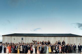 Devon barn wedding photography | Beachy South Milton festival wedding