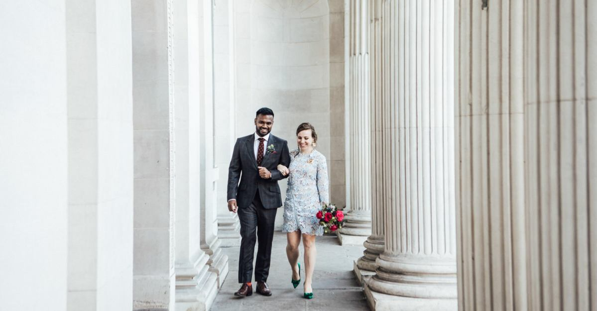 The final wedding of 2018: O & V at Marylebone Town Hall