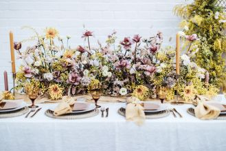 Cool wedding flowers: Bloaum at Most Curious London | SP photography