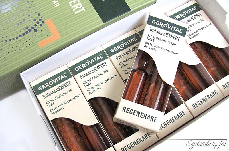 Kit de regenerare pentru par Gerovital Tratament Expert - pareri dupa folosire