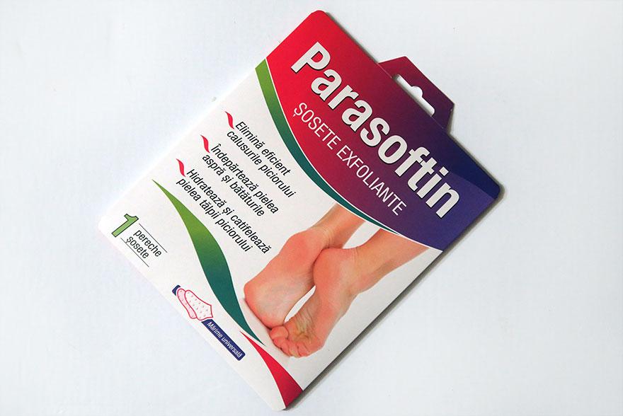 Experienta mea cu sosetele exfoliante Parasoftin