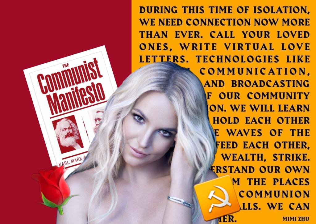 Бритни Спиърс призова за обща стачка и преразпределение на богатството