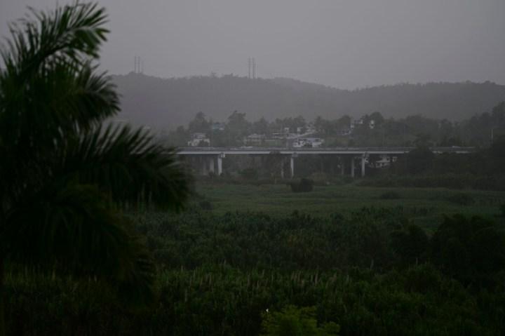 Photo du nuage de sable saharien à Puerto Rico le 22 juin 2020.