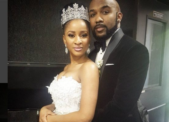 Banky W Teases with Wedding Pics Featuring Actress Adesua Etomi; Fans React