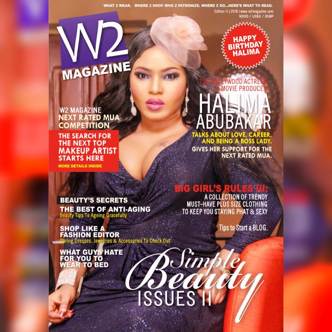 Halima Abubakar Shares Stunning Photos From Recent Magazine Cover