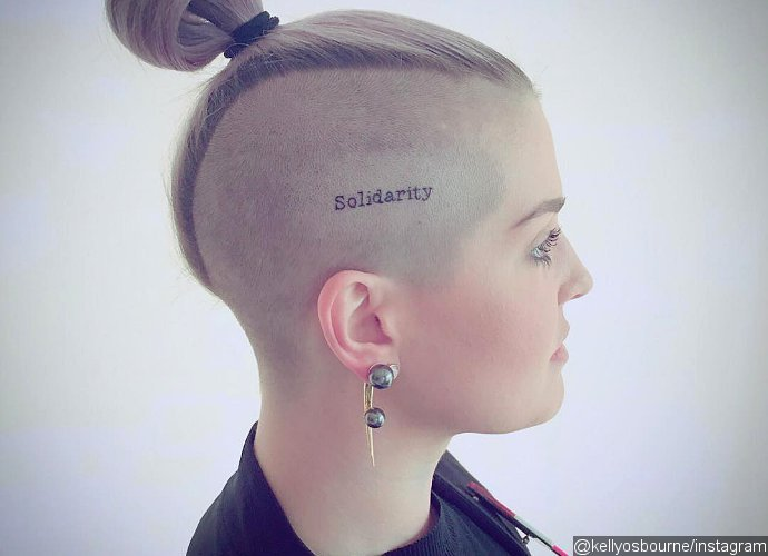 Photos: Kelly Osbourne Honours Orlando Shooting Victims With New Head Tattoo