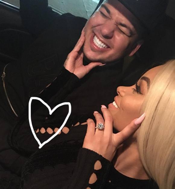 Rob Kardashian And Blac Chyna Already Planning For Second Child As They Await Arrival Of First Baby
