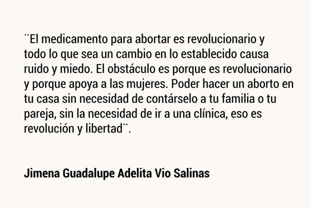 Jimena Guadalupe Adelita Vio Salinas